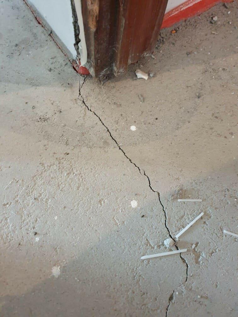 Crepe pavimento