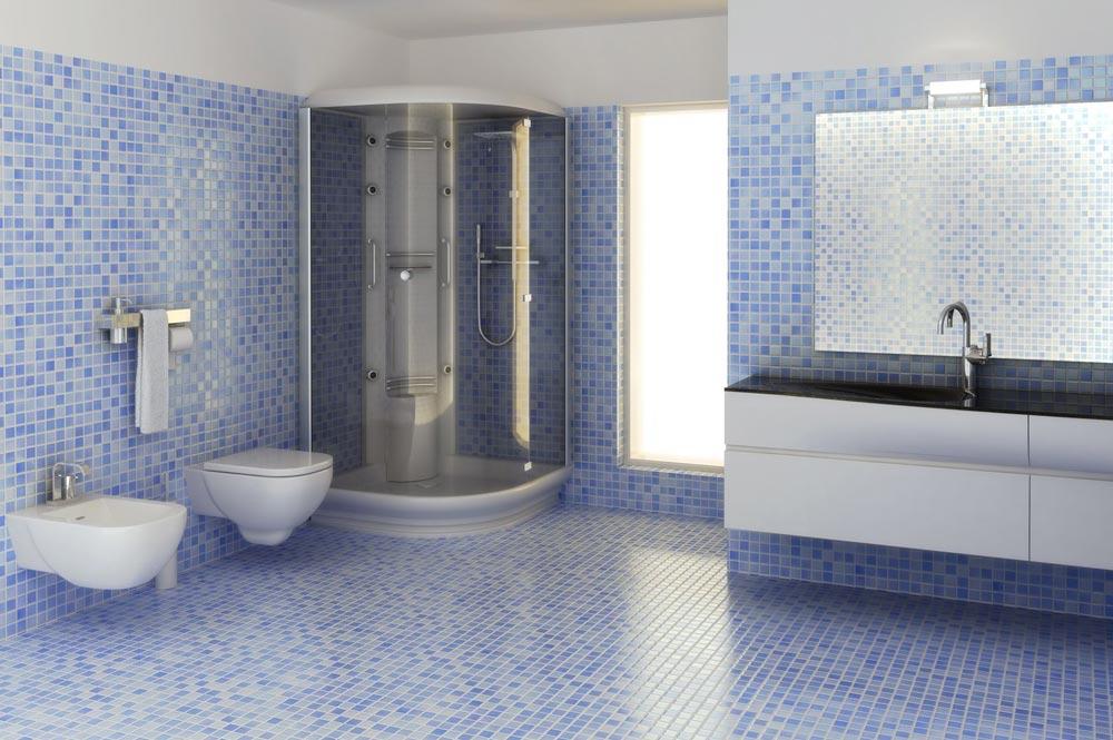 Posa mosaico bagno a Lecco